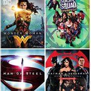 DC 4-Film Bundle: Wonder Woman/Suicide Squad: Extended Cut/Batman v Superman: Dawn of Justice Man of Steel $34.99