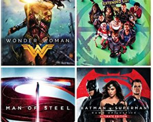 DC 4-Film Bundle: Wonder Woman/Suicide Squad: Extended Cut/Batman v Superman: Dawn of Justice Man of Steel $34.99