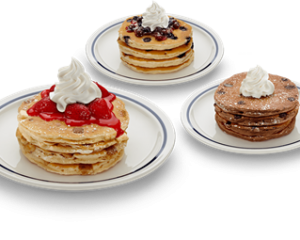 Thursday Freebies-Free Pancakes from IHOP!
