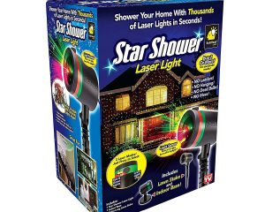 Star Shower As Seen on TV Static Laser Lights Star Projector $19.98