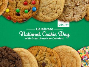 Monday Freebies-Free Chocolate Chip Cookie Today