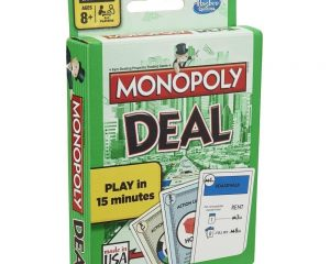 Monopoly Deal Family Card Game $4.99