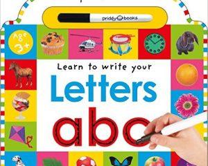 Wipe Clean: Letters (Wipe Clean Learning Books) $2.93