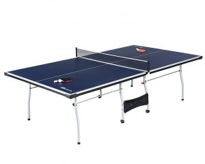 MD Sports Table Tennis Set, Regulation Ping Pong Table with Net, Paddles and Balls (8 Pieces) $60.47