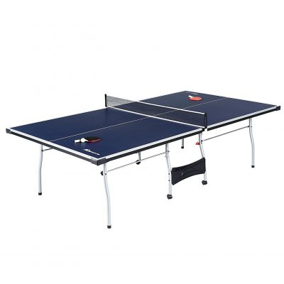 MD Sports Table Tennis Set, Regulation Ping Pong Table with Net ...