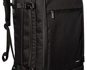 AmazonBasics Carry-On Travel Backpack $34.25