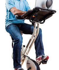 FitDesk 2.0 Exercise Bike with Massage Bar $199.99