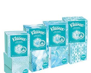 Kleenex Cool Touch Facial Tissues (27 boxes, 50 tissues per box) $33.75