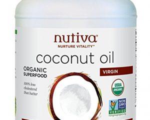 Nutiva Organic Unrefined Coconut Oil, 78 Fluid Ounces, Only $18.99!