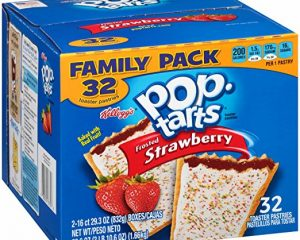 Pop-Tarts, Frosted Strawberry, 32 Count, 58.61 Ounce $6.11