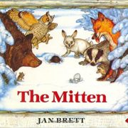 The Mitten by Jan Brett Board book $3.99