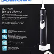 Philips Sonicare 2 Series plaque control rechargeable electric toothbrush, Black $24