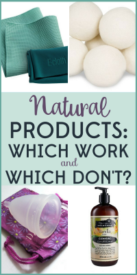 Do natural products actually work? My crunchy product experiments show you which are worth using and which are a waste of money.