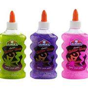 Elmer's Liquid Glitter Glue, Washable, Assorted Colors, 6 Ounces Each, 3 Count $5.50