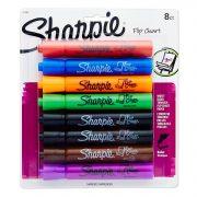 Sharpie 22480PP Flip Chart Markers, Bullet Tip, Assorted Colors, 8-Count $4.65