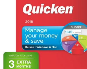 Quicken Deluxe 2018 – 27-Month Personal Finance & Budgeting Software Only $44.99!