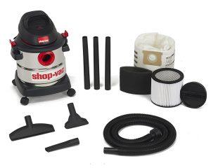 Shop-Vac 5986000 5-Gallon 4.5 Peak HP Stainless Steel Wet Dry Vacuum $55.94