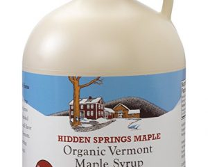 Hidden Springs Organic Vermont Maple Syrup, Dark Robust (Formerly Grade B), 64 Ounce $29.99