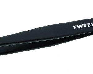 Tweezerman Stainless Steel Slant Tweezer, Black Only $11.20!