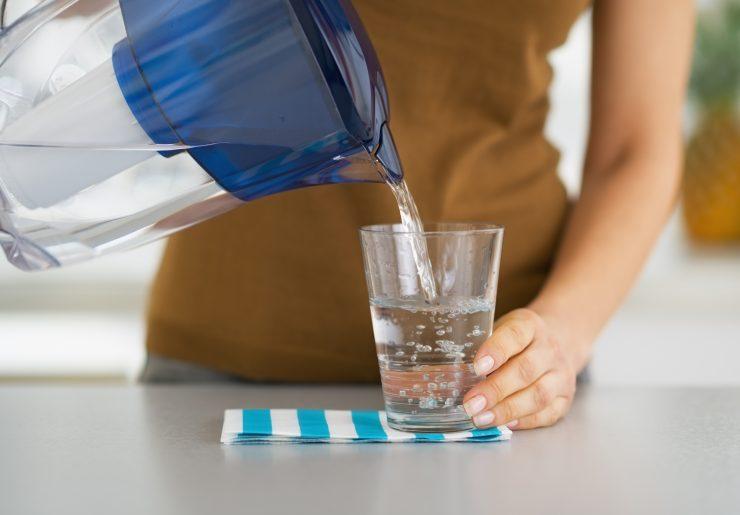 Como consertar um filtro de água lento 5