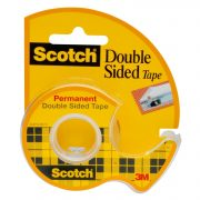 SCOTCH DOUBLE SIDED LONG-LASTING TAPE WITH DISPENSER $2.44