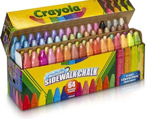 Crayola Sidewalk Chalk, Washable, Outdoor, Gifts for Kids, 64 Count $6.71 DEAD