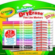 Crayola Washable Dry-Erase Markers, 12 Count $4.41