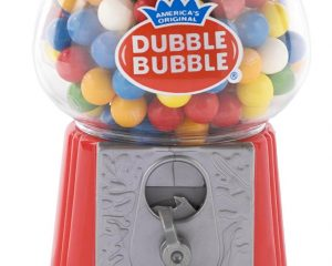 Classic Dubble Bubble Gumball Coin Bank Only $7.15