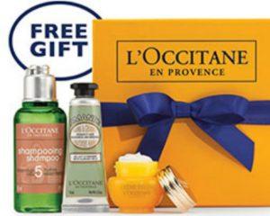 Saturday Freebies – Free Anti-Aging Gift Set at L'Occitane