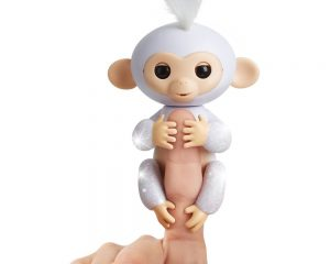 Fingerlings Glitter Monkey – Sugar- Interactive Baby Pet – By WowWee $11.48