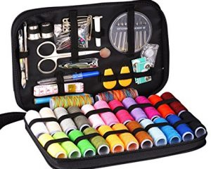 Innocheer Sewing Kit With 97 Sewing Accessories, 24 Spools of Thread, 24 Colors, Mini Sewing Kits $9.99