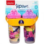 Playtex Playtime Insulator Straw Cup, 9 oz, 2 ct $4