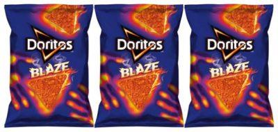 Doritos Blaze (PRNewsfoto/Frito-Lay North America)