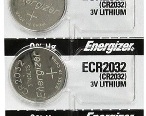 Energizer 2032 Battery CR2032 Lithium 3v, Pack of 5 Only $3.60