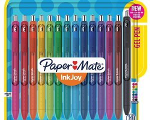 Paper Mate InkJoy Gel Retractable Pen, 0.7mm, Ink, Pack of 14 $8.70