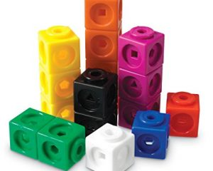 Learning Resources Mathlink Cubes, Educational Counting Toy, Set of 100 Cubes $8.49