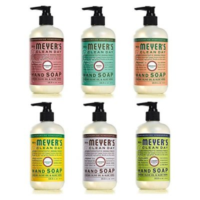 Mrs Meyers Clean Day Liquid Hand Soap 6 Scent Variety
