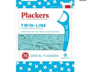 Plackers Twin Line Whitening Flosser, 75 count (Pack of 4) $8