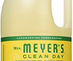 MRS. MEYER'S CLEAN DAY LAUNDRY DETERGENT, HONEYSUCKLE, 64 OZ $8