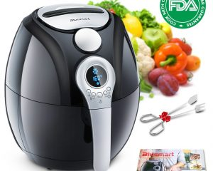 Electric Air Fryer, Blusmart Power Air Frying Technology with Temperature and Time Control LED Display 3.4Qt/3.2L $53.99