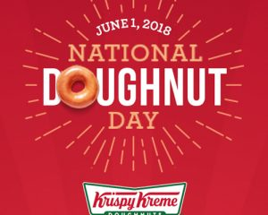 Friday Freebies-Free Doughnut from Krispy Kreme