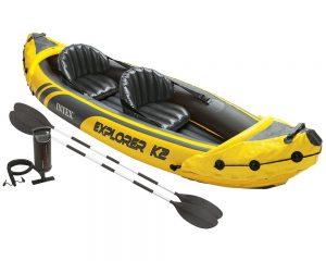 Intex Explorer K2 Kayak, 2-Person Inflatable Kayak Set $58.99