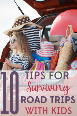 Are you ready to hit the road? Have your best road trip ever when you use these 10 tips for surviving road trips with kids!