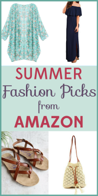 Summer fashion should be fun, not a budget buster! Perk up your summer wardrobe with these frugal finds from Amazon.