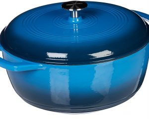 AmazonBasics Enameled Cast Iron Dutch Oven – 6-Quart Only $44.99