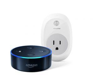 Echo Dot (2nd Generation) – Black + TP-Link Smart Plug $50.98