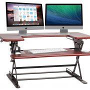 Halter ED-600 Preassembled Height Adjustable Desk Sit/Stand Elevating Desktop $109.99