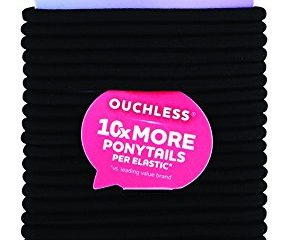 Goody Ouchless Women's Braided Elastic Thick, Black, 27 Count $3.46