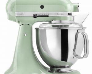 KitchenAid KSM150PSPT Artisan Series 5-Qt. Stand Mixer with Pouring Shield – Pistachio $209.99