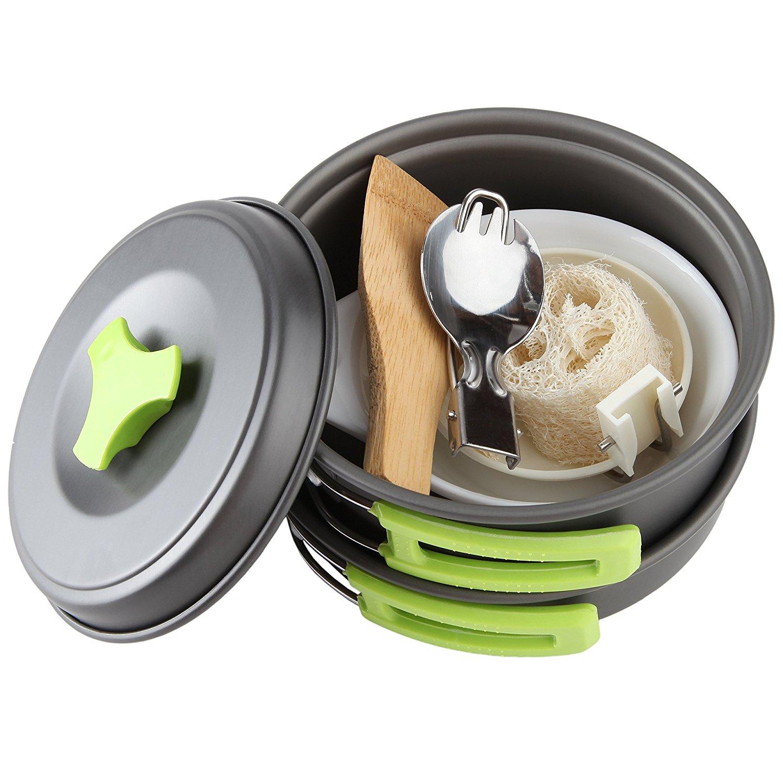 16ebe3fb6af 1 Liter Camping Cookware Mess Kit  15.99